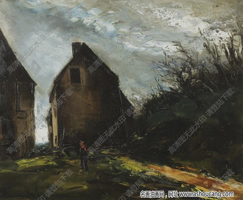 弗拉曼克油画高清图片50下载