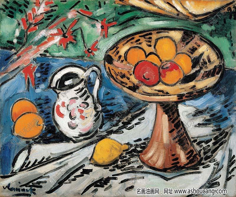 弗拉曼克油画高清图片57下载