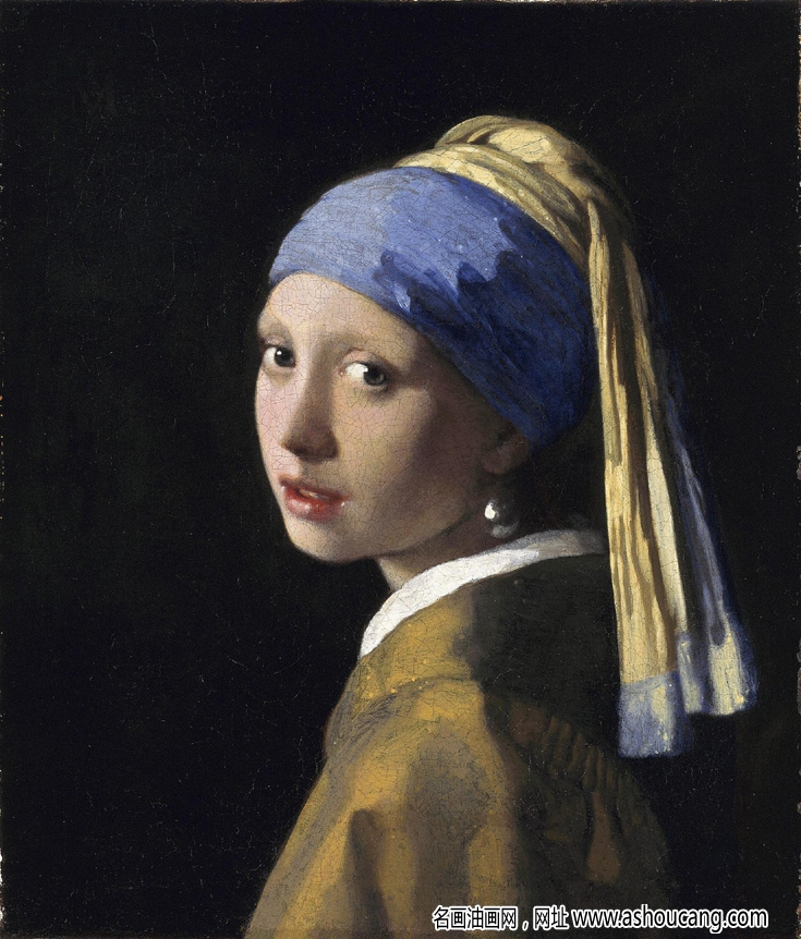 维梅尔名画《戴珍珠耳环的少女》赏析