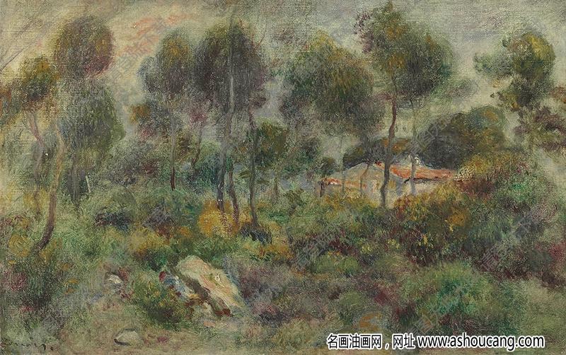 雷诺阿油画59高清图片下载