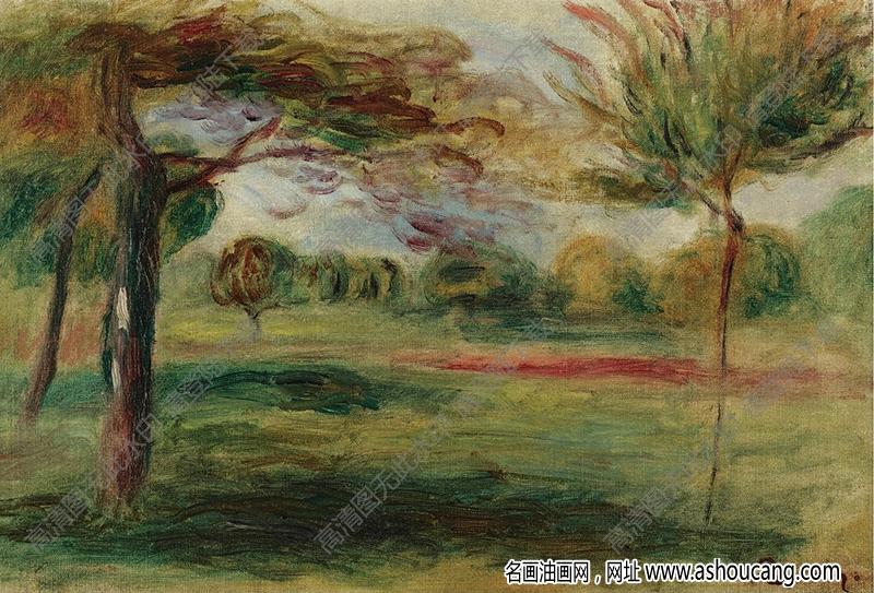 雷诺阿油画60高清图片下载