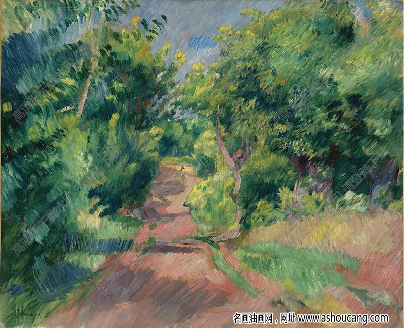 雷诺阿油画68高清图片下载