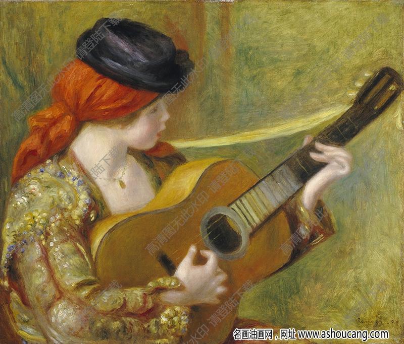 雷诺阿油画作品83高清下载