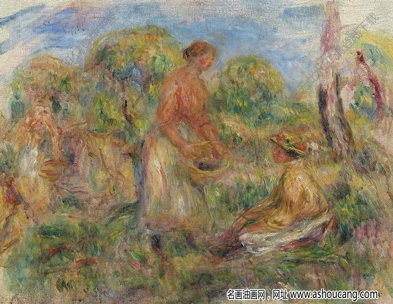 雷诺阿油画作品92高清下载