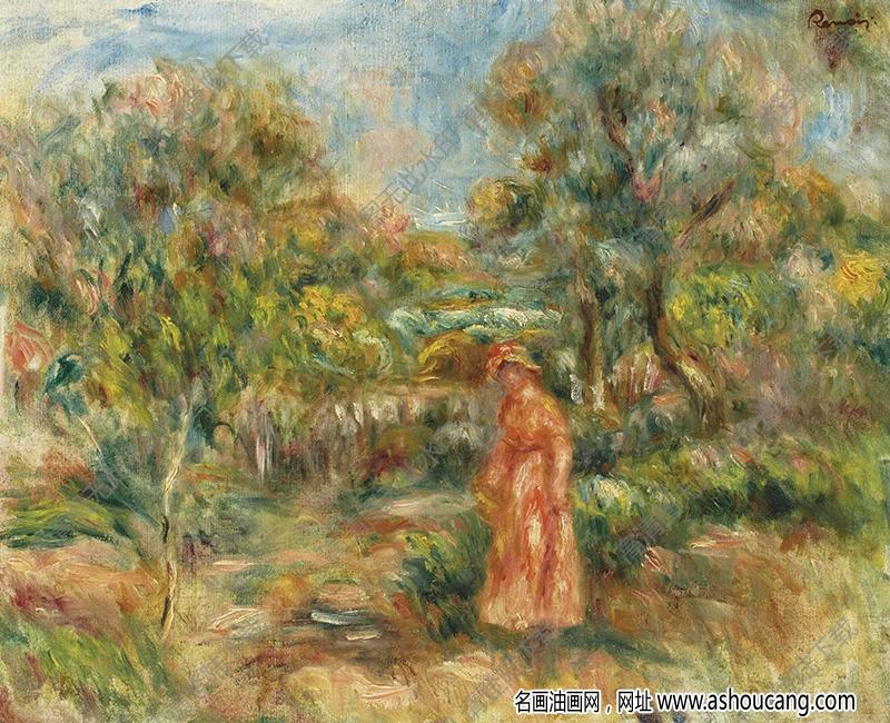 雷诺阿油画作品93高清下载