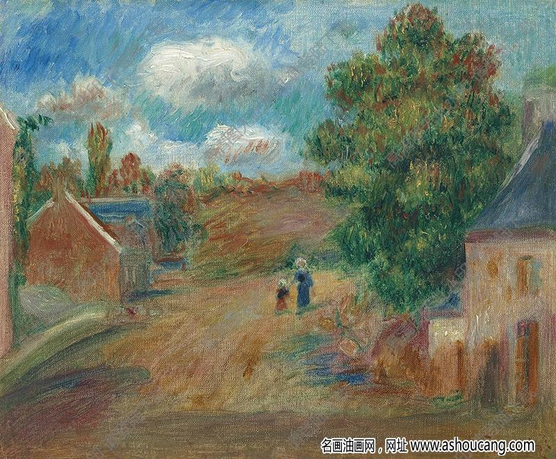 雷诺阿油画作品94高清下载