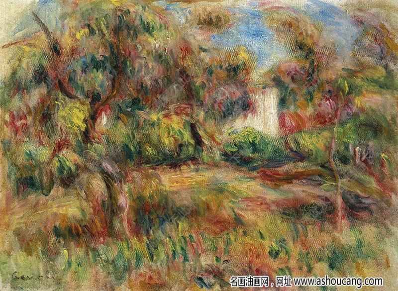 雷诺阿油画作品95高清下载