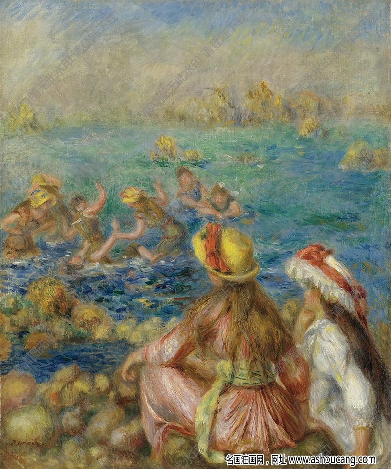 雷诺阿油画作品96高清下载