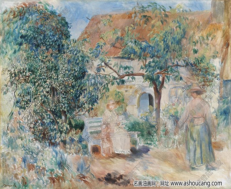 雷诺阿油画作品100高清下载