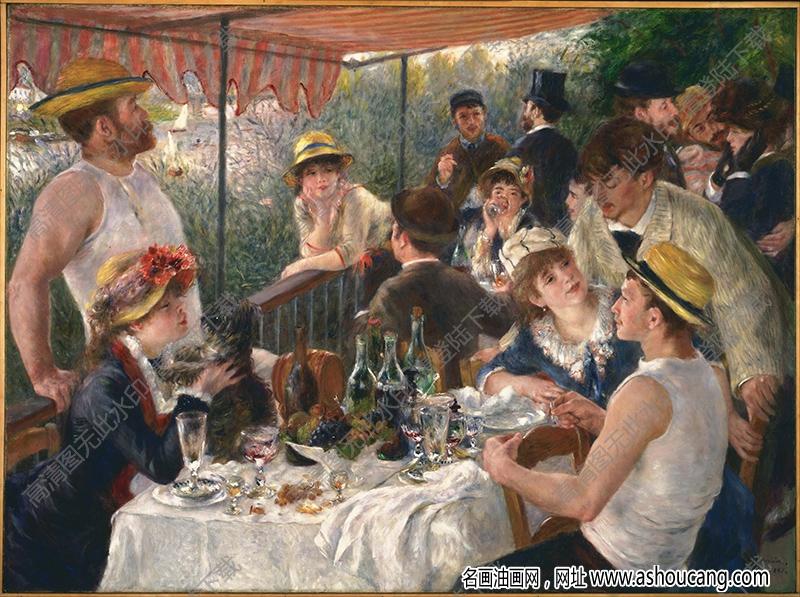 雷诺阿油画作品102高清下载