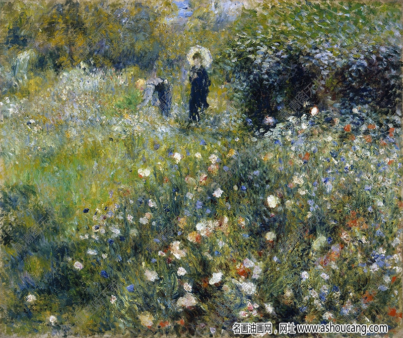 雷诺阿油画作品103高清下载