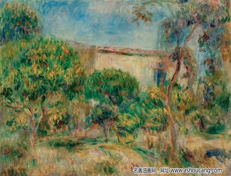雷诺阿油画作品104高清下载