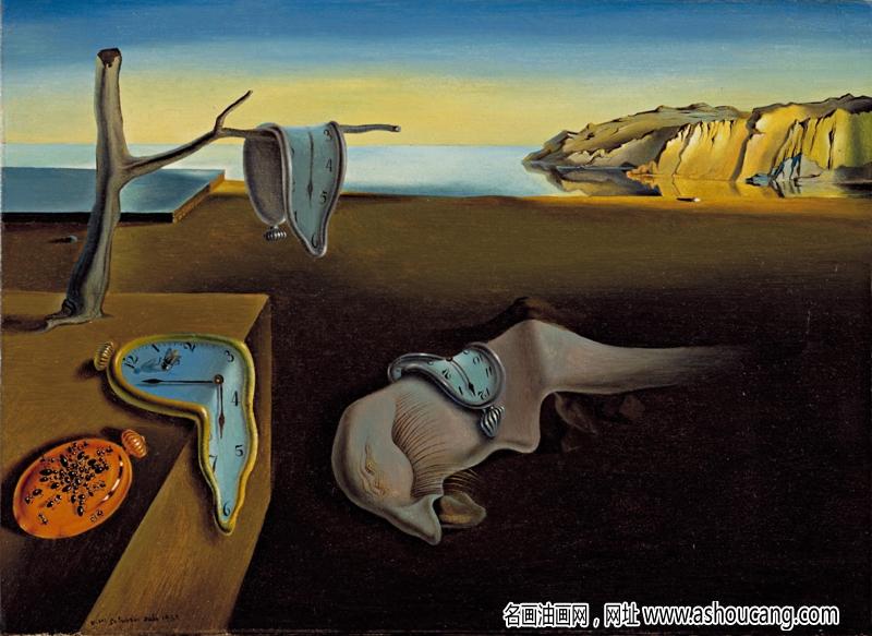 达利早期超现实主义油画《记忆的永恒》赏析