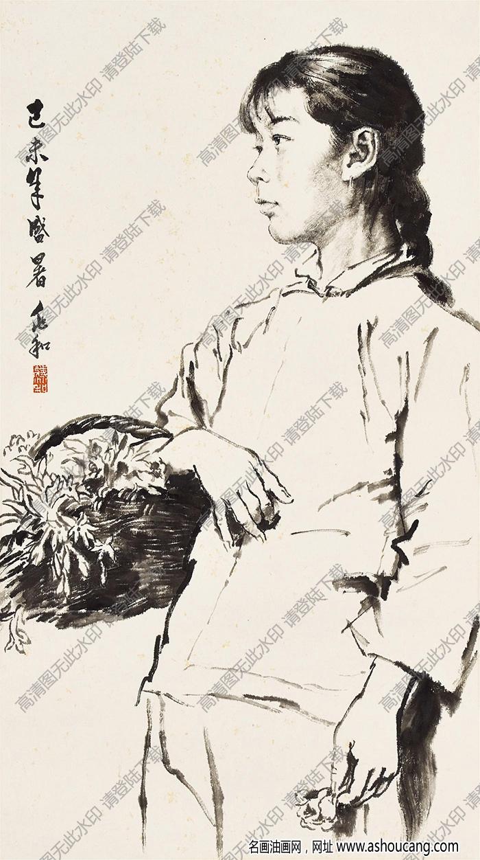 蒋兆和国画作品49高清下载
