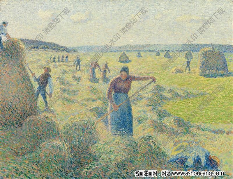 毕沙罗油画作品100高清下载