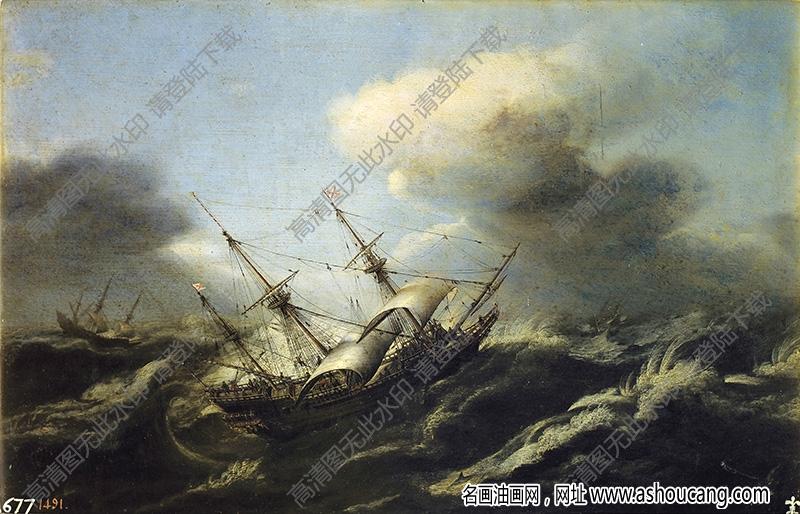 古典风景油画108高清下载