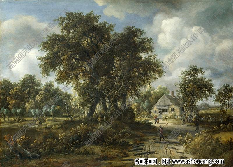 古典油画风景名画255高清下载