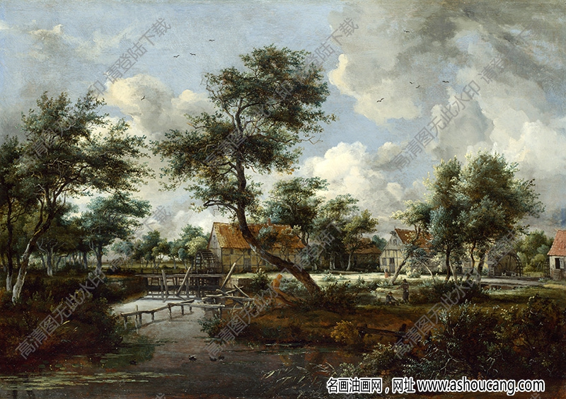 古典油画风景名画260高清下载