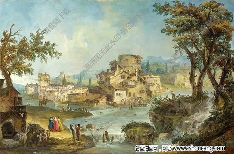 古典油画风景名画262高清下载