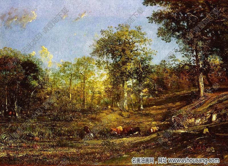 世界古典油画风景298高清下载