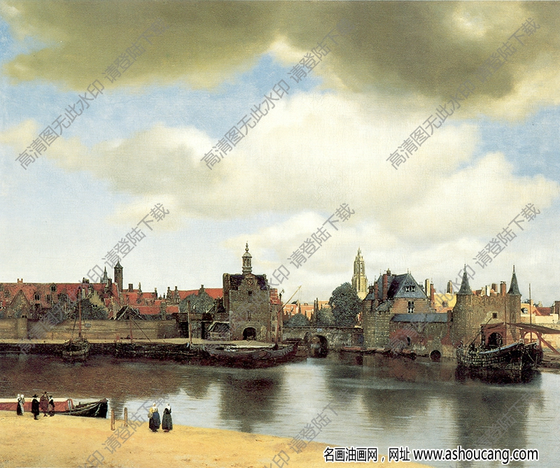 世界古典油画风景303高清下载
