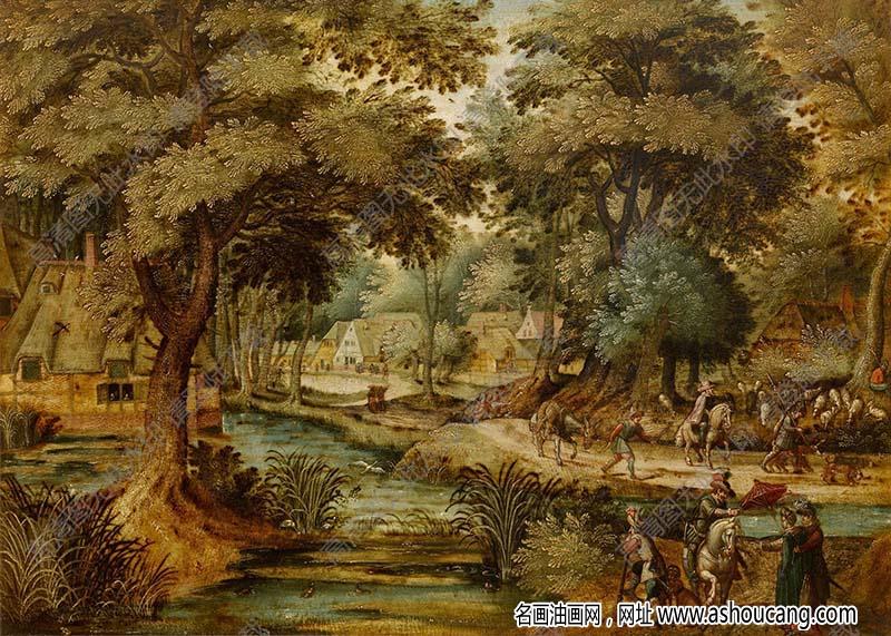 世界古典油画风景795高清下载