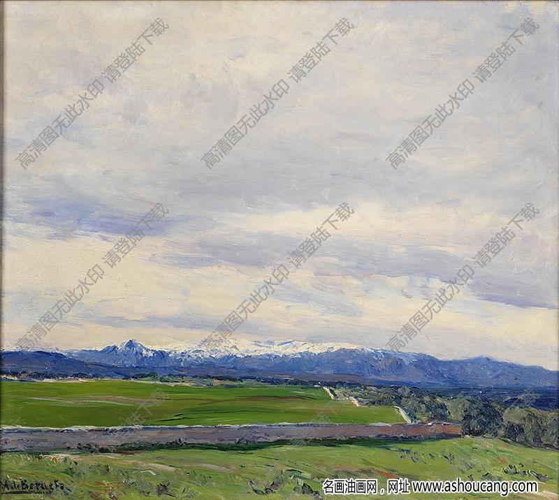 世界古典油画风景803高清下载
