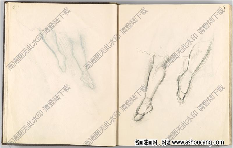 徳加素描9高清图片下载