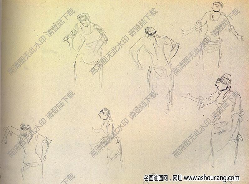 徳加素描11高清图片下载