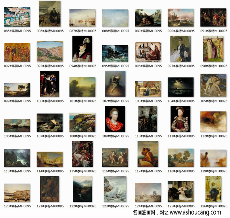 泰特现代美术馆超高清名画合集百度云网盘下载