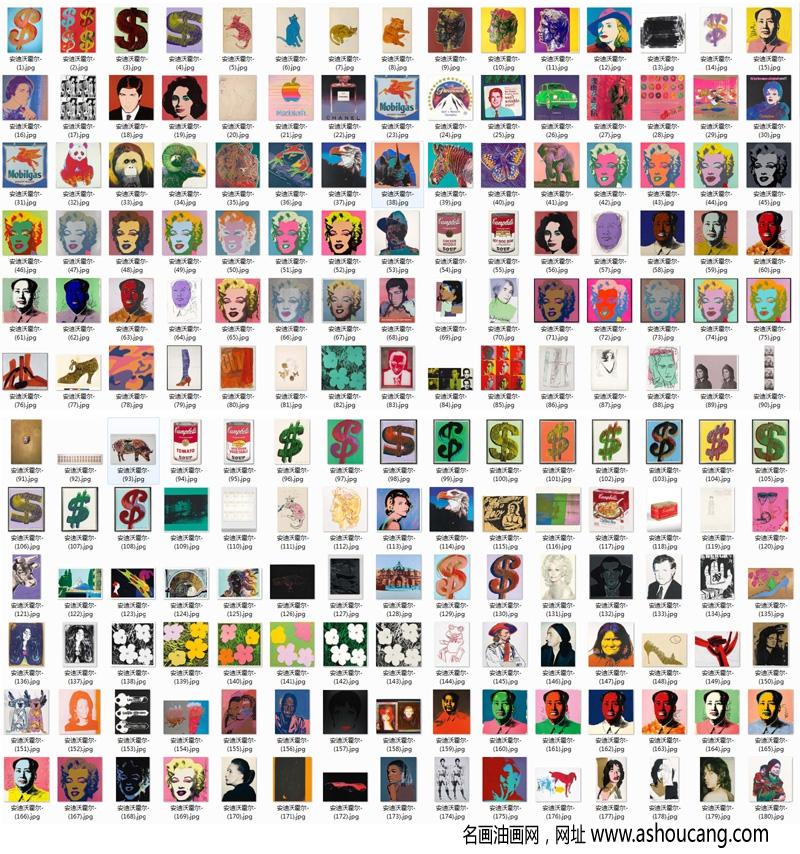 安迪沃霍尔名画作品合集超高清百度云网盘下载35