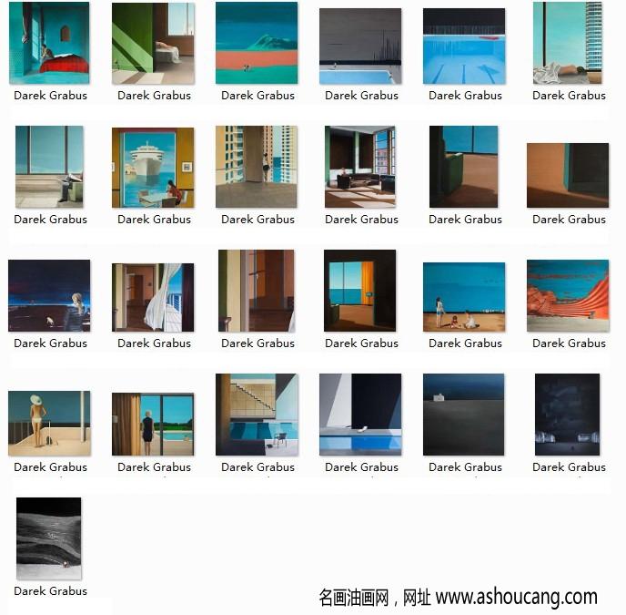 格拉布斯油画超高清合集百度云网盘下载