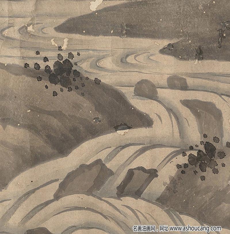 查士标超高清国画《百鹊图》百度云网盘下载