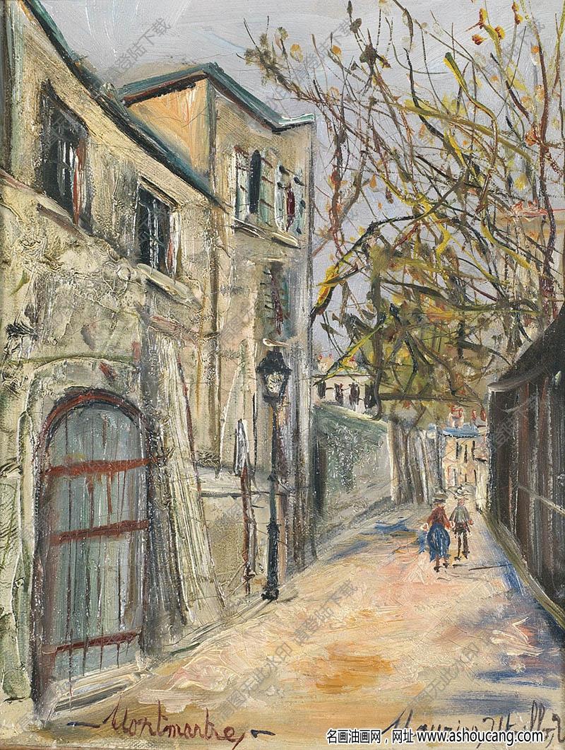郁特里罗油画作品179高清下载