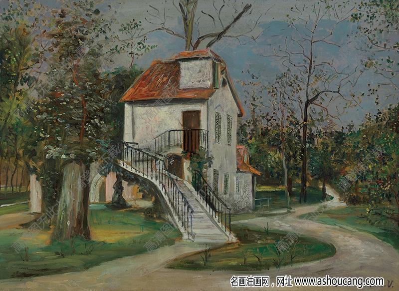 郁特里罗油画作品185高清下载
