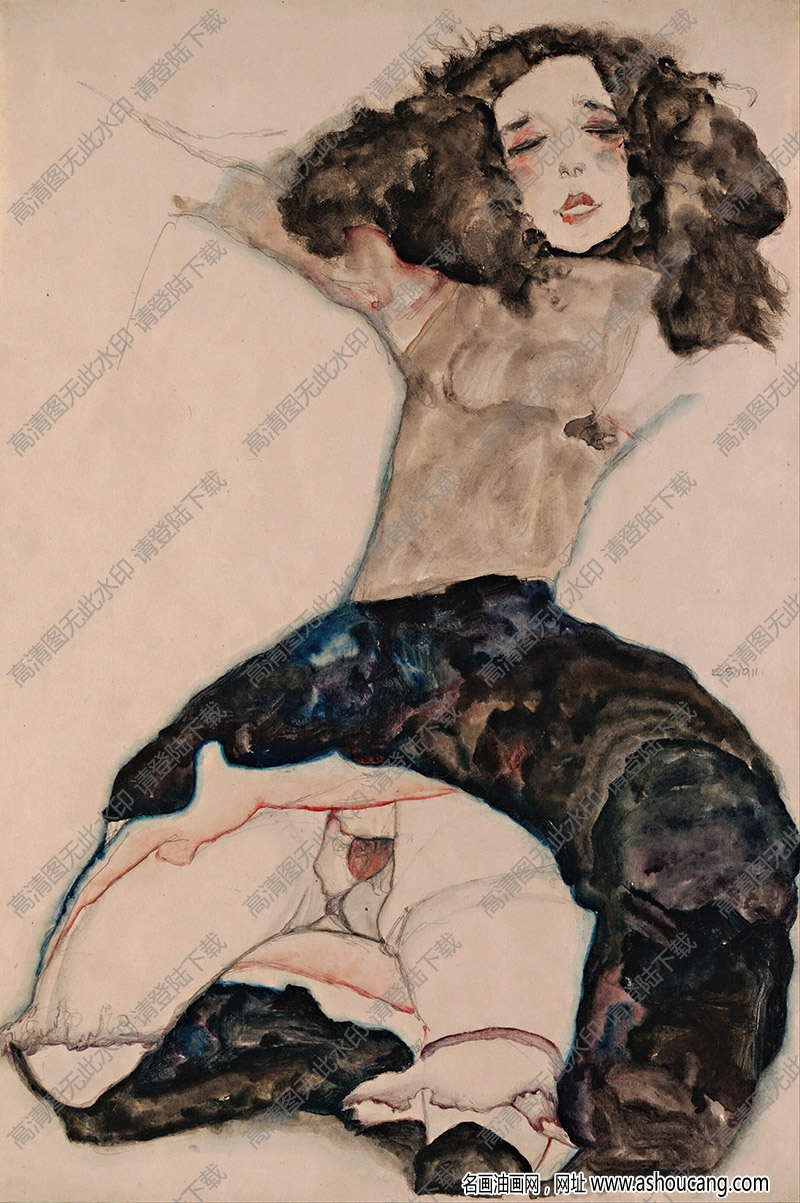 席勒油画作品99高清大图下载