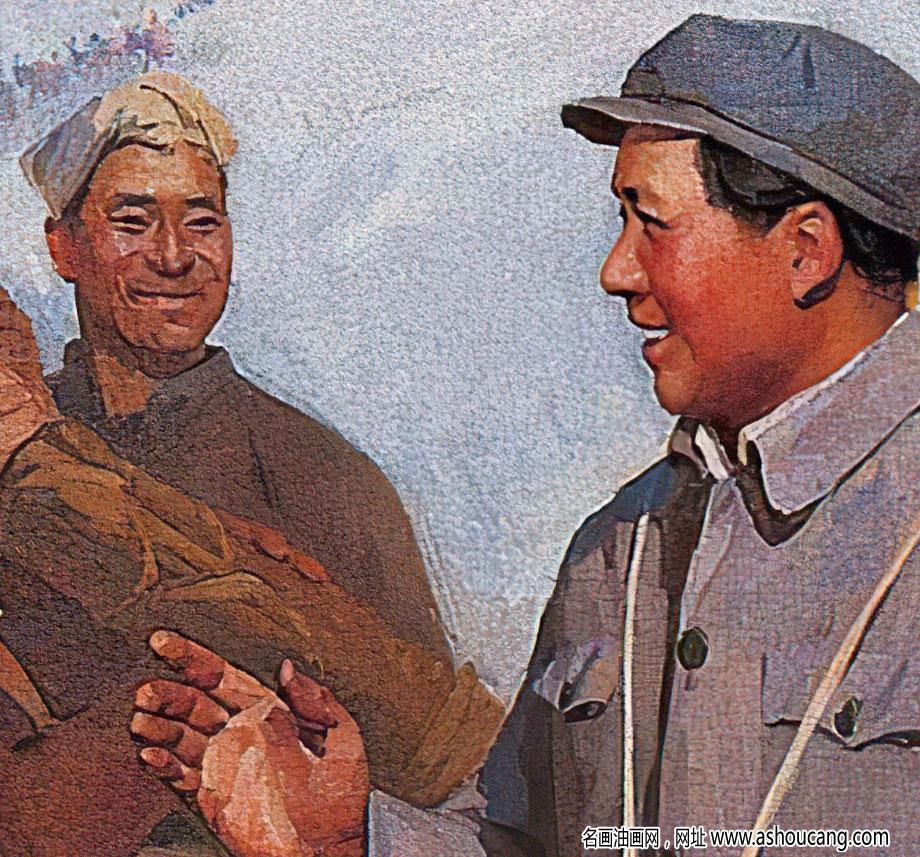 蔡亮油画作品 铜墙铁壁 高清大图下载